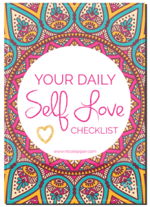 Your Daily Self Love Checklist5